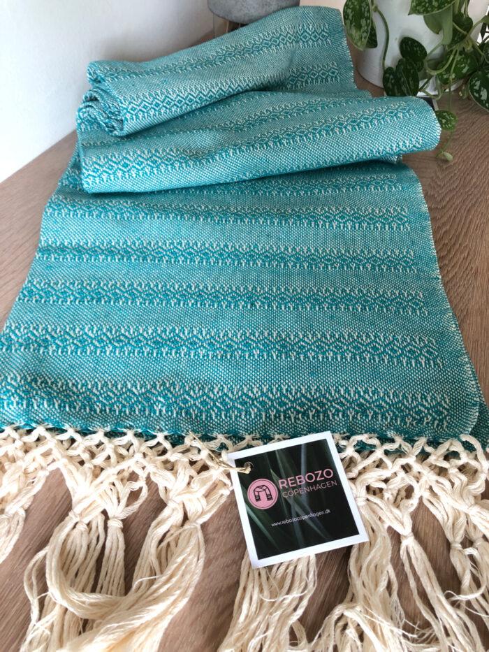 Rebozo Torklæde Emma Green Vikle og Rebozo massage b.1