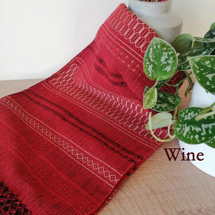 Rebozo Scarf Amaya Red Wine Wrap and Rebozo massage pic.2