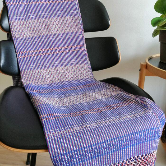 Rebozo Torklæde Amaya Blue Vikle og Rebozo massage p.2
