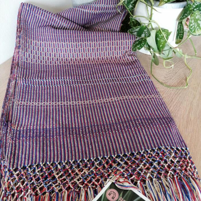 Rebozo Scarf Amaya Purple Baby carrier and Rebozo massage p.1