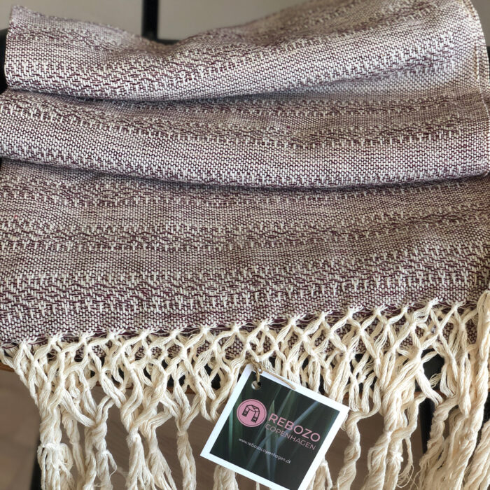 Rebozo Scarf Emma Chocolate Sand Baby Carrier and Rebozo massage pic.3