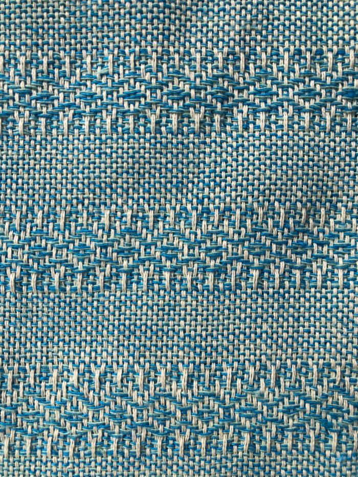 Rebozo Torklæde Emma Turquoise Mint Vikle og Rebozo massage b.4